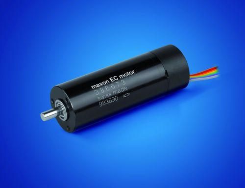 maxon motor: Бесколлекторные двигатели EC 22 40 и 100 Вт стандартного исполнения и стерилизуемые.