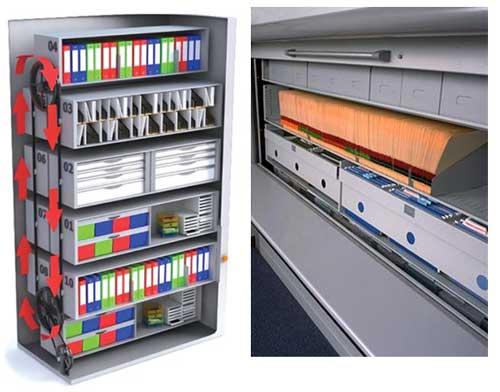 Система хранения бумажных документов